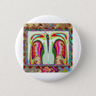 Metapher SOUL ermüdete von tragendem KÖRPER auf Runder Button 5,7 Cm