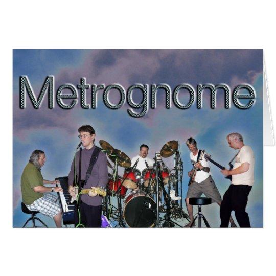 Metrognome Karten-freier Raum Karte