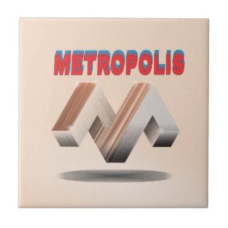 métropole 1 petit carreau carré