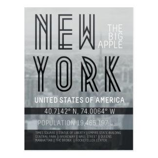 Metropole New York Postkarte