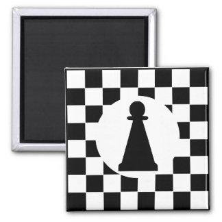 Mettez en gage la pièce d'échecs - aimant - des