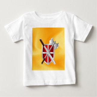 Meuchelmörder Schild-Axt Sward Baby T-shirt