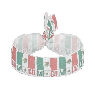 Mexikanische Flagge und Mexiko Haargummi