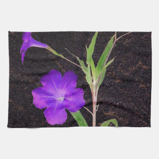 Mexikanische Petunie lila Handtücher