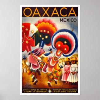 Mexikanische Plakate der Reise-Anzeigen-(Vintage