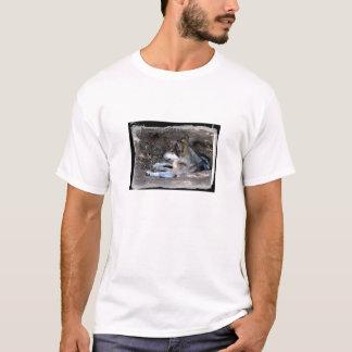 Mexikanischer grauer Wolf-T - Shirt