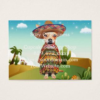 Mexikanischer Hund, Chihuahua Visitenkarte