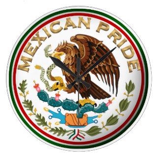 Mexikanischer Stolz (Eagle von der mexikanischen Große Wanduhr