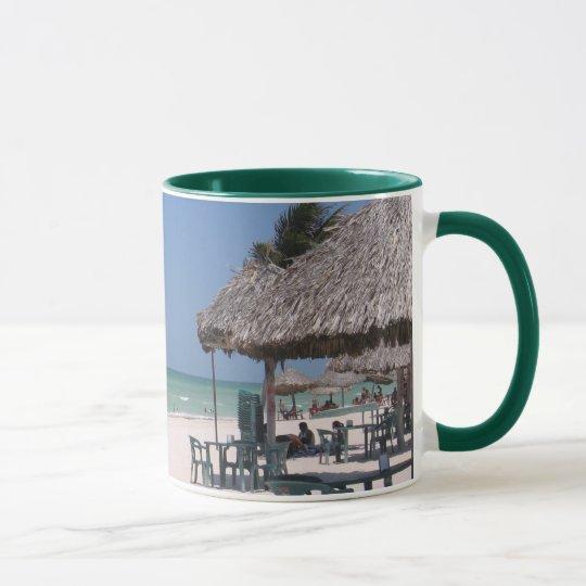 Mexikanischer Strand Tasse