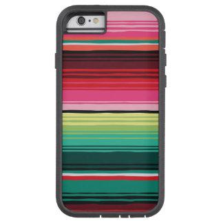 Mexikanischer umfassender Serape wasserdichter Tough Xtreme iPhone 6 Hülle