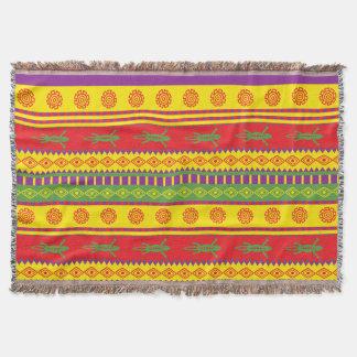 Mexikanisches Eidechsen-Muster Decke