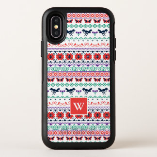Mexikanisches Muster Frida Kahlos | OtterBox Symmetry iPhone X Hülle