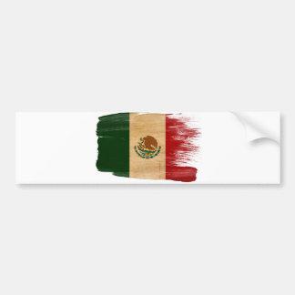 Mexiko-Flagge Autoaufkleber