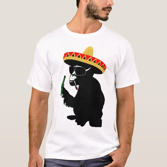 mexiko monkey T-Shirt