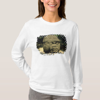 Mexiko, Villahermosa, riesiger Olmec Kopf, La T-Shirt