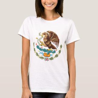 Mexiko-Wappen Damen-Petite T - Shirt