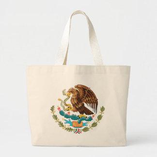 Mexiko-Wappen Jumbo Stoffbeutel
