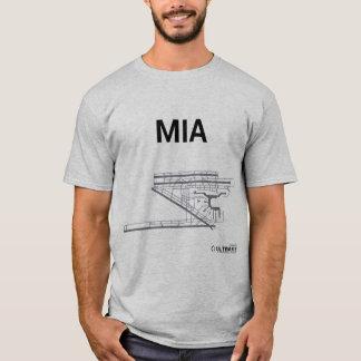 MIA Flughafen-Plan-T - Shirt