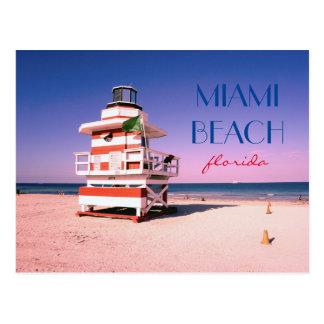Miami Beach Florida #01 Postkarte