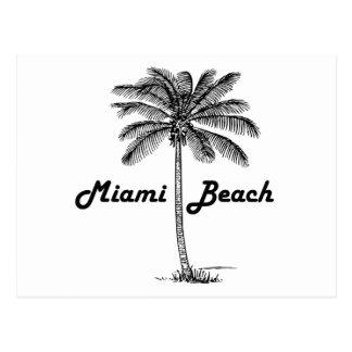 Miami Beach Postkarte