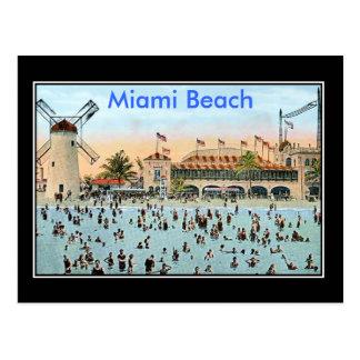 Miami Beach Vintag Postkarte