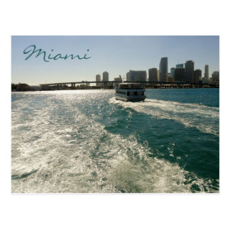 Miami-Postkarte Postkarte