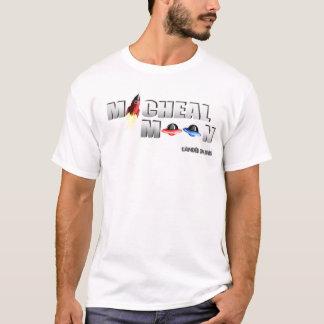 Micheal-Mond-Weiß-T - Shirt