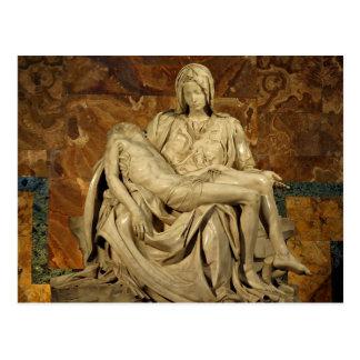 Michelangelos Pieta in St Peter Basilika Postkarte