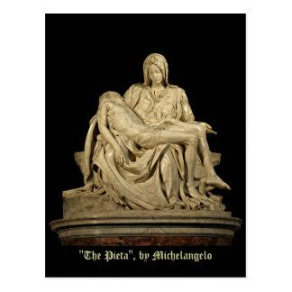 Michelangelos Pieta-Klassiker-Renaissance Postkarte