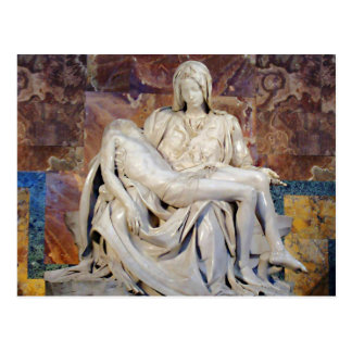 Michelangelos Pieta Postkarte