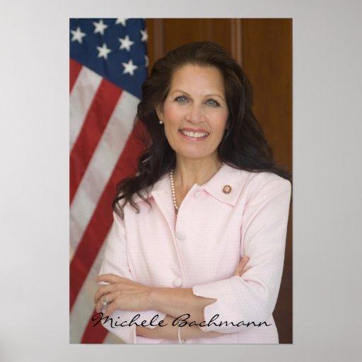 Michele Bachmann für Präsidenten 2012 politischer  Posterdrucke