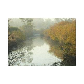 Michigan-Fluss Galerie Faltleinwand