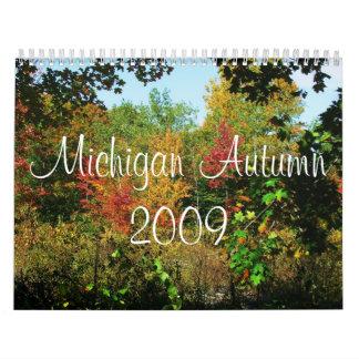 Michigan-Herbst-Kalender 2009 Kalender