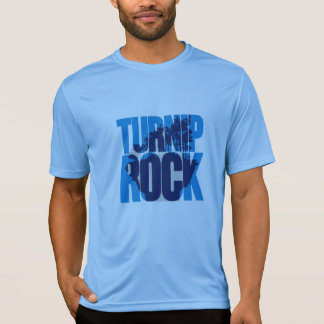 Michigan (MI). Rübe-Felsen - Farblogo T-Shirt