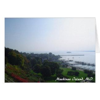 michigan_trip 089, Mackinac Insel, MI Karte