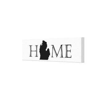 Michigan-Zuhause-Leinwand Leinwanddruck