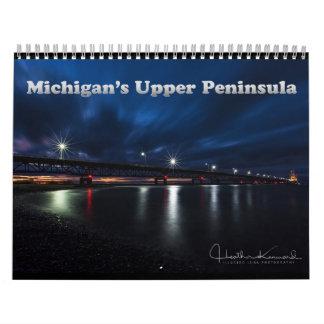Michigans oberer Halbinsel-Kalender 2017 Abreißkalender