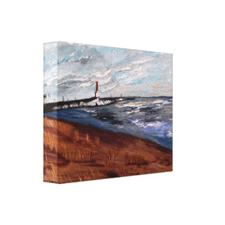 Michigansee-Schönheit Gespannter Galerie Druck