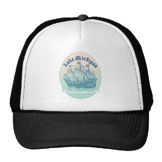 Michigansee-Segelschiff Truckercap