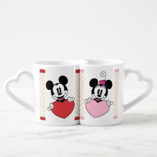 Mickey und Minnie Tassen