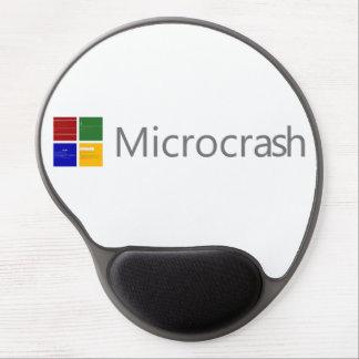 Microcrash Schirm des Todeslogos Gel Mousepad