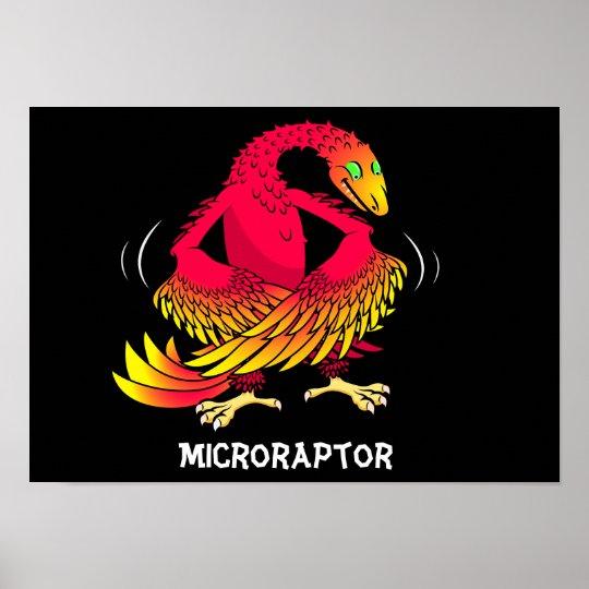 Microraptor Poster