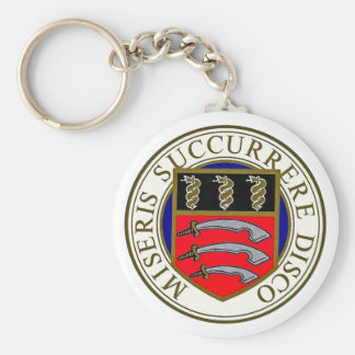 Middlesex-Krankenhaus keychain Standard Runder Schlüsselanhänger