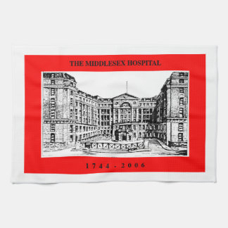 Middlesex-Krankenhaus-Tee-Tuch Handtuch