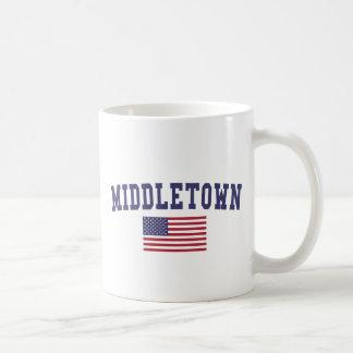 Middletown CT US Flagge Kaffeetasse