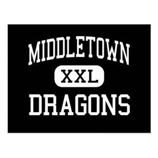 Middletown - Drachen - hoch - Middletown Postkarte