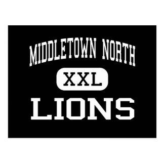 Middletown Nord- Löwen - hohes - Middletown Postkarte