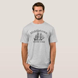 Middletown Rhode Island hohes Schiffs-Shirt T-Shirt
