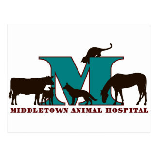 Middletown Tierklinik Postkarte