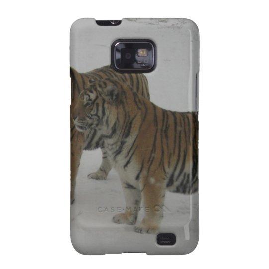 Mieten zwei sibirische Tiger Galaxy SII Cover